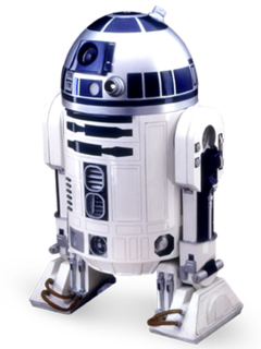 R2-D2 fictional character from Star Wars