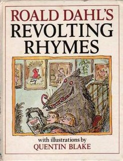 <i>Revolting Rhymes</i> collection of Roald Dahl poems published in 1982