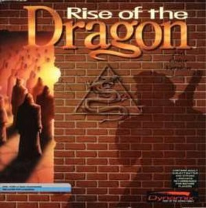 Rise of the Dragon - Image: Rise of the Dragon Game Cover