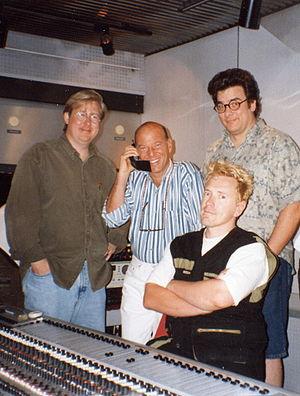 George Gimarc - From left to right: Bryan Boyd, Eric Gardner, John Lydon, George Gimarc