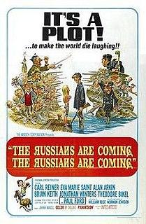 <i>The Russians Are Coming, the Russians Are Coming</i> 1966 film by Norman Jewison