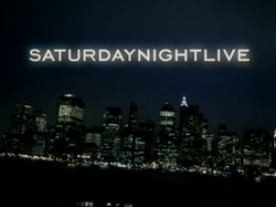 The title card for the twenty-ninth season of Saturday Night Live.