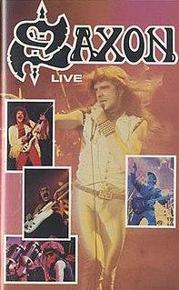 <i>Live</i> (Saxon album) 1983 video by Saxon