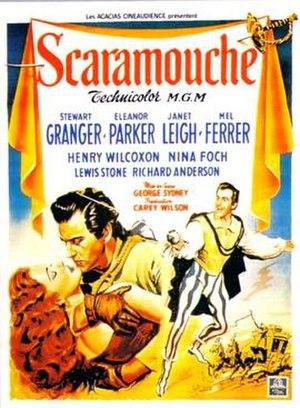 Scaramouche (1952 film) - Original film poster