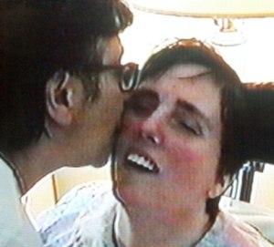 Terri Schiavo case - Terri Schiavo with her mother, in 2001