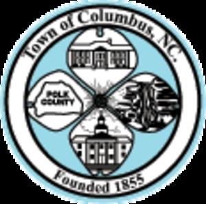 Columbus, North Carolina - Image: Seal of Columbus, North Carolina