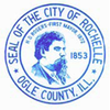 Official seal of Rochelle, Illinois
