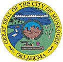 Official seal of Muskogee, Oklahoma