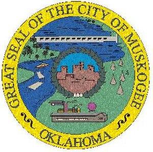 Muskogee, Oklahoma - Image: Seal of muskogee