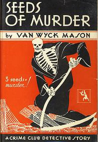 F. Van Wyck Mason - Cover from Seeds of Murder, Mason's first book