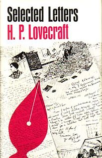 <i>Selected Letters of H. P. Lovecraft II</i> (1925–1929) book by Howard Phillips Lovecraft