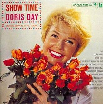 Show Time (Doris Day album) - Image: Show Time cover