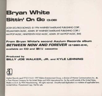 Sittin' on Go - Image: Sittin On Go single cover