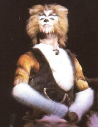 Skimbleshanks - Skimbleshanks, played by Reed Jones in the original Broadway cast of Cats.