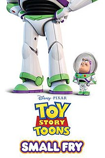 <i>Small Fry</i> (film) 2011 Pixar short directed by Angus MacLane