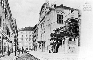 The Sofiensaal in 1900.