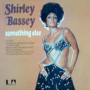 Something Else (Shirley Bassey album) - Image: Something Else Shirley Bassey