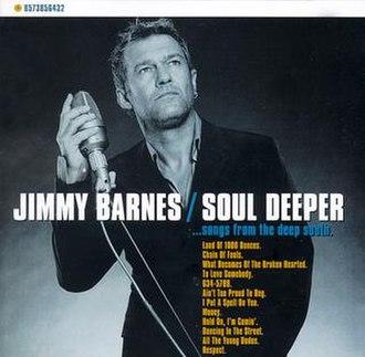 Soul Deeper... Songs from the Deep South - Image: Soul Deeper Jimmy Barnes