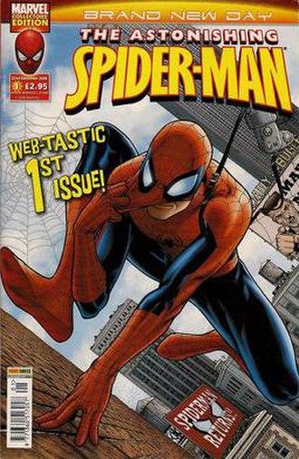 Astonishing Spider-Man - Image: Spidey cover 001