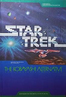 <i>Star Trek: The Kobayashi Alternative</i> 1985 video game