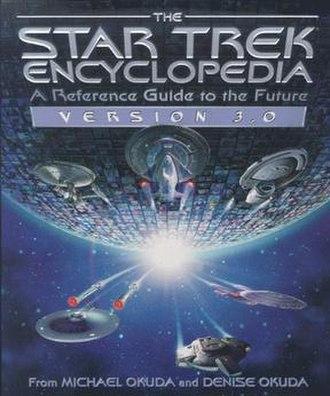 The Star Trek Encyclopedia - Cover of Version 3.0
