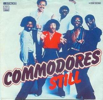 Still (Commodores song) - Image: Still Commodores