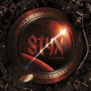 The Mission (Styx album) - Image: Styx The Mission album cover (2017)