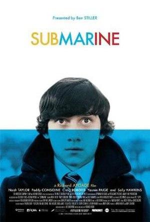 Submarine (2010 film) - US theatrical poster