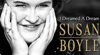 I Dreamed a Dream: The Susan Boyle Story - Image: Susan Boyle IDADS