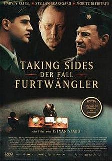 <i>Taking Sides</i> (film) 2001 film by István Szabó