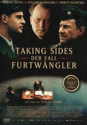 Taking Sides (film) - German film poster