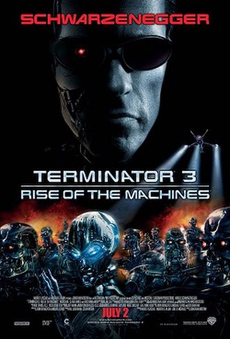 Terminator 3: Rise of the Machines - Theatrical release poster