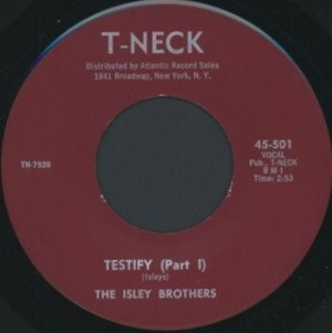 Testify (The Isley Brothers song) - Image: Testify (Part 1) single cover