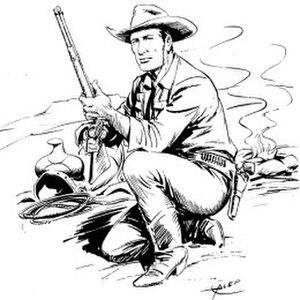 Tex Willer - Image: Tex Willer by Aurelio Galleppini