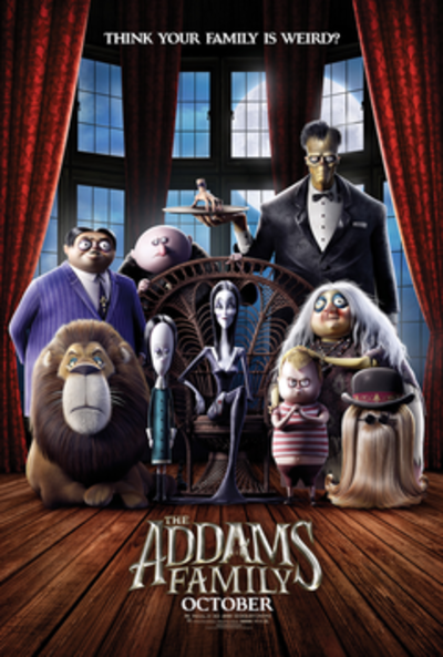 Picture of a movie: The Addams Family