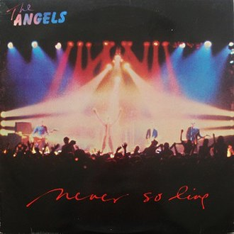 Never So Live - Image: The Angels Never So Live