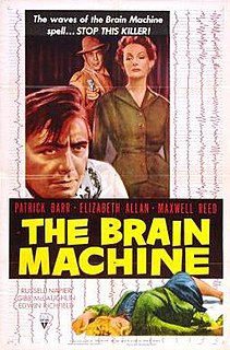 <i>The Brain Machine</i> (film) 1956 film by Ken Hughes