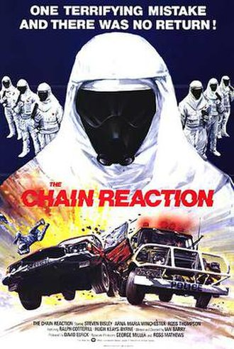 The Chain Reaction - Theatrical film poster