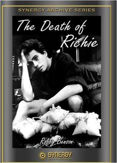 <i>The Death of Richie</i> 1977 television film directed by Paul Wendkos