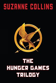 Three books by Suzanne Collins (2008–2010)