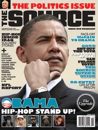 The Source - Cover of November 2008 issue