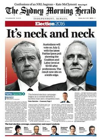 The Sydney Morning Herald - Image: The Sydney Morning Herald front page
