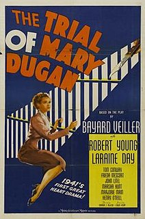<i>The Trial of Mary Dugan</i> (1941 film) 1941 film by Norman Z. McLeod