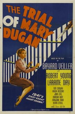 The Trial of Mary Dugan (1941 film) - Theatrical release poster