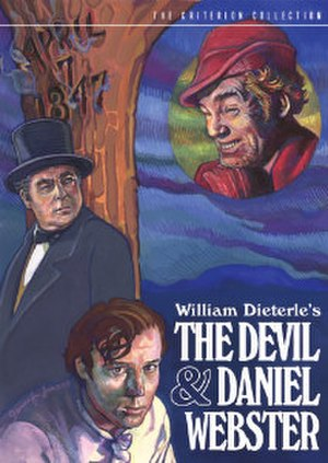 The Devil and Daniel Webster (film) - DVD cover