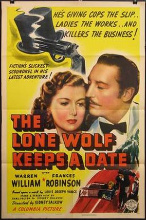The Lone Wolf Keeps a Date - Image: The lone wolf keeps his date poster