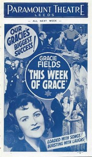 <i>This Week of Grace</i> 1933 film by Maurice Elvey