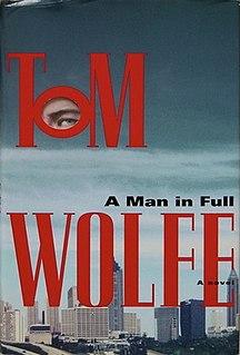 <i>A Man in Full</i> 1998 novel by Tom Wolfe