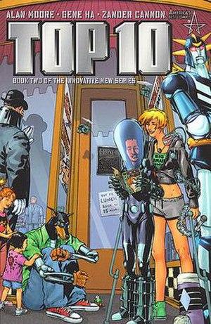 Top 10 (comics) - Image: Top Tencover 2