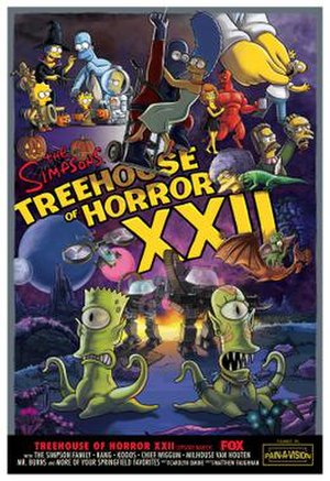 Treehouse of Horror XXII - Image: Treehouse of Horror XXII